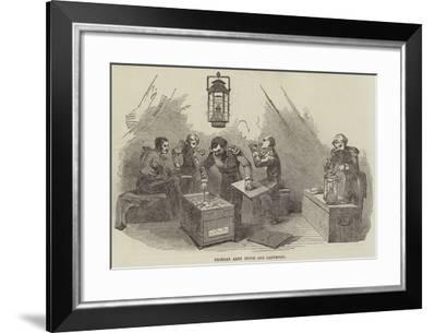 Crimean Army Stove and Lanthorn--Framed Giclee Print