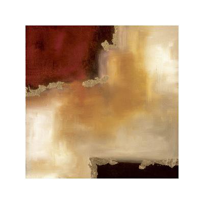 Crimson Accent II-Laurie Maitland-Giclee Print