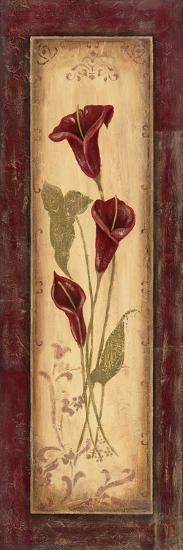 Crimson Blooms I-Jo Moulton-Art Print