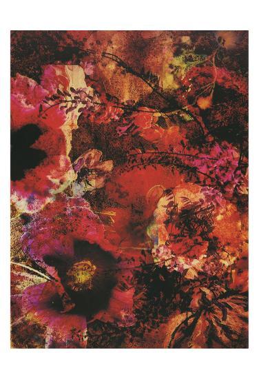 Crimson Florals-Smith Haynes-Art Print