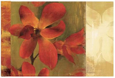 Crimson Garden-Asia Jensen-Art Print