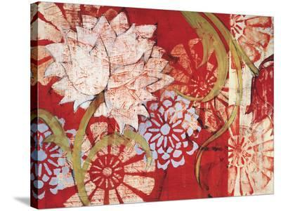 Crimson Malay I-Kate Birch-Stretched Canvas Print
