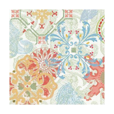Crimson Stamps II Spring--Art Print