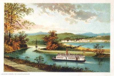 Crinan Canal at Lochgilphead, Scotland, 1891--Giclee Print