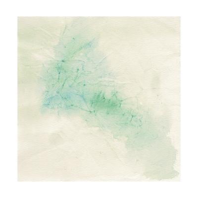 Crinkle Green-Chris Paschke-Art Print