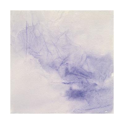 Crinkle Purple-Chris Paschke-Art Print