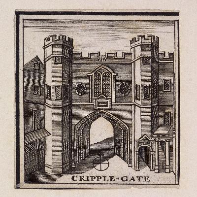 Cripplegate, London, 1750--Giclee Print