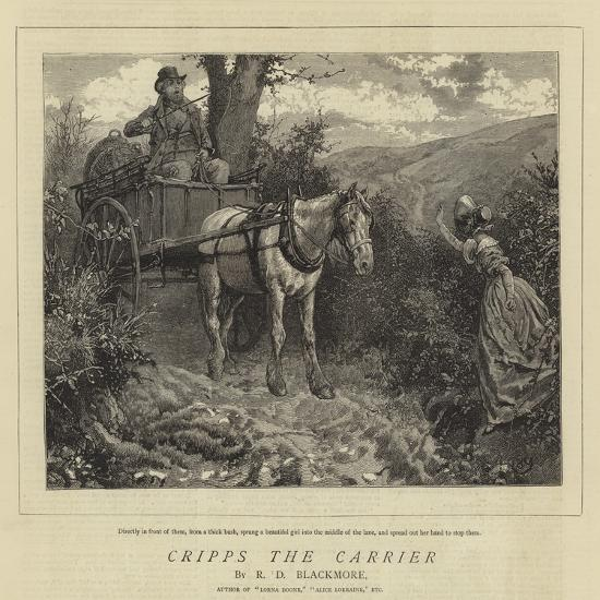 Cripps the Carrier-Charles Green-Giclee Print