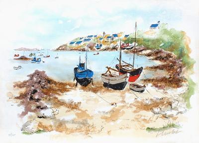 Crique En Bretagne-Urbain Huchet-Limited Edition