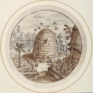 Beehive, Early 17th Century by Crispin I De Passe