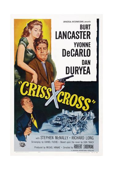 Criss Cross--Giclee Print