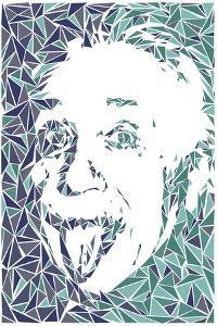 Albert Einstein by Cristian Mielu