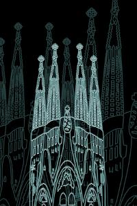Barcelona Night by Cristian Mielu