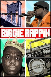 Biggie Rapping by Cristian Mielu