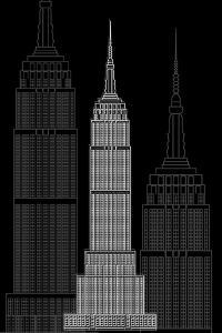 Manhattan Night by Cristian Mielu