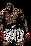 Muhammad Ali-Cristian Mielu-Art Print