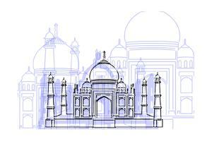 Taj Mahal by Cristian Mielu