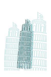 Tower of Pisa by Cristian Mielu