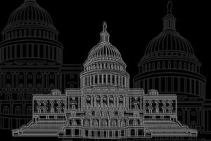 Washington D.C. Night by Cristian Mielu