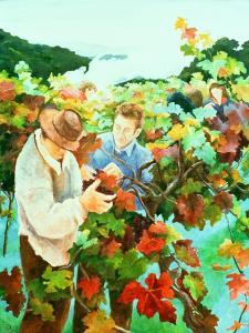 Grape Pickers, 1996 by Cristiana Angelini