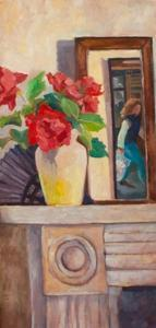 Red Roses, 1986, by Cristiana Angelini