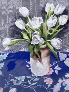 White Tulips, 1994 by Cristiana Angelini