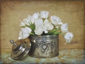 Vintage Tulips II by Cristin Atria