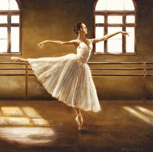 Ballet Dancer by Cristina Mavaracchio