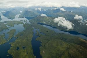 Aerial View of the Great Bear Rainforest by Cristina Mittermeier