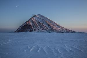 Snow Dusted Mountain in Western Greenland by Cristina Mittermeier