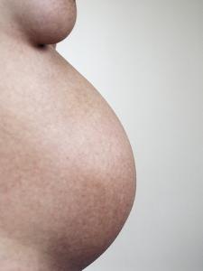Pregnant Woman by Cristina