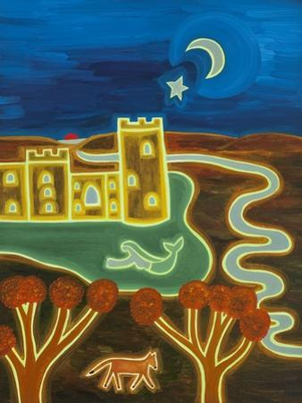 Bodiam Castle by Moonlight, 2014 by Cristina Rodriguez