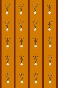 Design -CR-Onions in Ochre Brown by Cristina Rodriguez