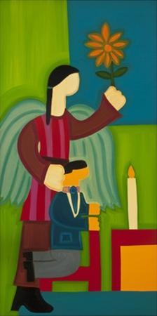 Jose Maria Y Su Angel, 2009 by Cristina Rodriguez