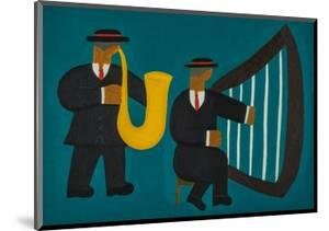 Musicians in Geneva by Cristina Rodriguez