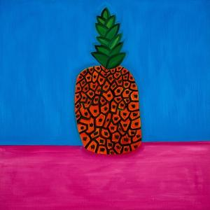 Pineapple,1998,(oil on linen) by Cristina Rodriguez