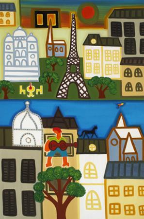 Spring in Paris by Cristina Rodriguez