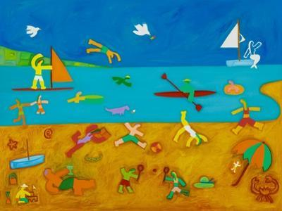 The Bathers,2001 by Cristina Rodriguez