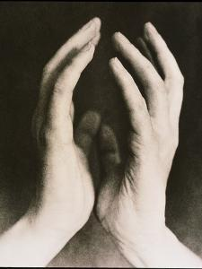 View of a Woman's Hands Held Together by Cristina
