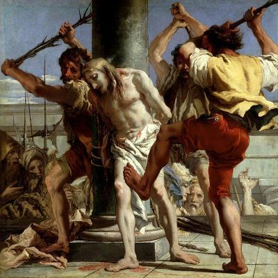 Cristo a La Columna, 1772-Giovanni Domenico Tiepolo-Giclee Print