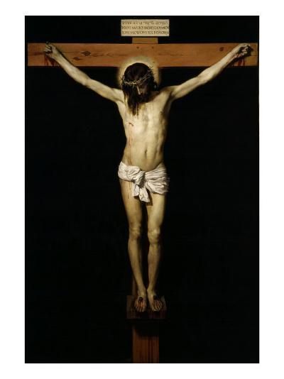 Cristo Crucificado (Christ on the Cross)-Diego Velazquez-Giclee Print
