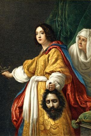 Judith holding head of Holofernes