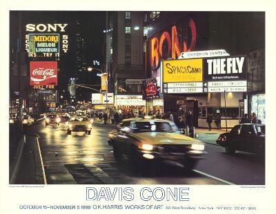 Criterion Center-Davis Cone-Collectable Print