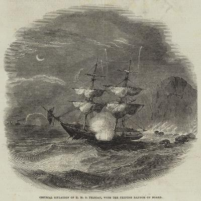 Critical Situation of HMS Pelican, with the Chinese Ransom on Board--Giclee Print