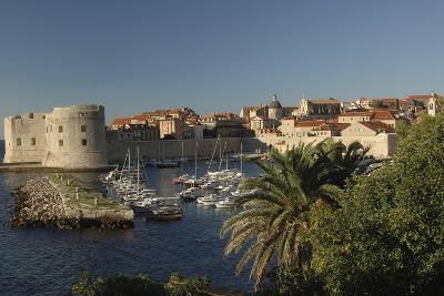 Croatia, Dalmatia, Dubrovnik, Port Near Old Town--Giclee Print