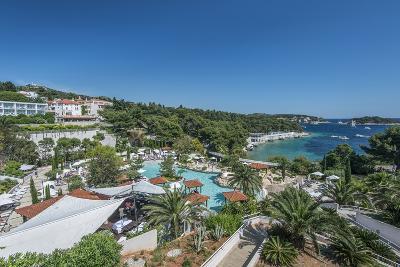 Croatia, Dalmatia, Hvar, Amfora Hvar Grand Beach Resort-Rob Tilley-Photographic Print
