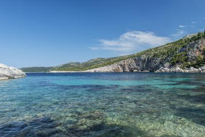 Croatia, Dalmatia, Hvar Island, Secluded Cove Near Milna-Rob Tilley-Photographic Print