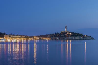 Croatia, Istria, Twilight Rovinj-Rob Tilley-Photographic Print