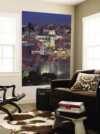 Croatia, Southern Dalmatia, Dubrovnik, Old Town-Walter Bibikow-Wall Mural