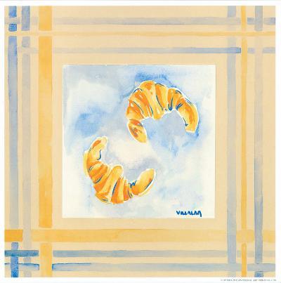 Croissants-Urpina-Art Print